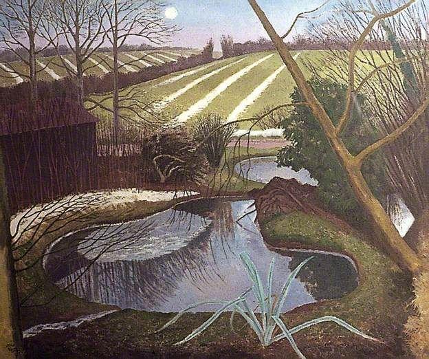 John Nash - Winter Evening
