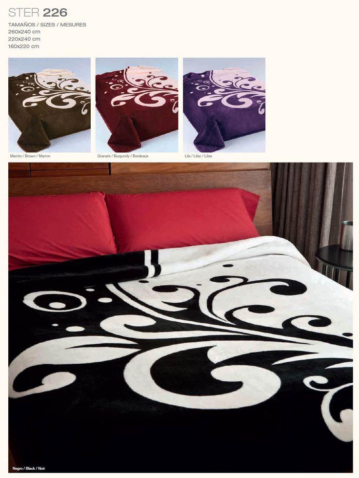 Manta de sofá o cama con increíbles estampados.