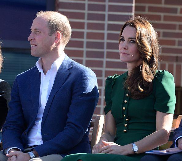 Prince William Duke of Cambridge and Catherine Duchess of Cambridge visit the University of British Columbia on September 27 2016 in Kelowna Canada