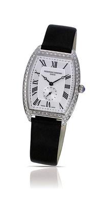 Frederique Constant Ladies Steel Art Deco Quartz Watch