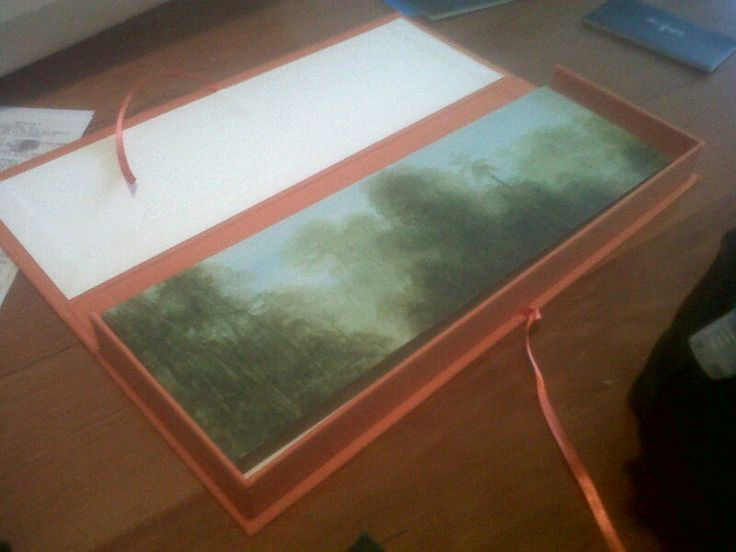 Caja para obra de arte