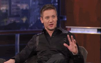 Jeremy fangirling gif. I am unable to stop laughing at this.
