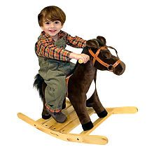 Melissa & Doug Plush Rocking Horse Our Price only $49.99 Excellent Condition!