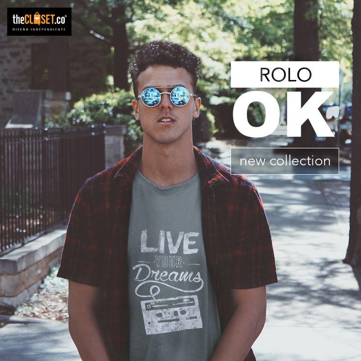 Rolo-ok Camisetas combina con tus #outfits favoritos. Encuentra #camisetas de esta marca en nuestra boutique TheCloset.co Store K7 # 54a - 18 L-3 #Bogota #DiseñoIndependiente