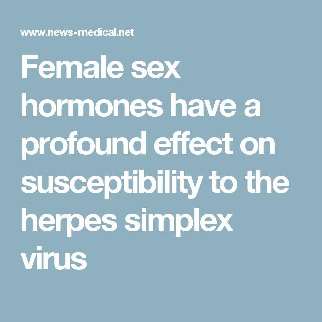 Genital herpes test virus sex association