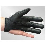 Left Hand Black Archery Glove