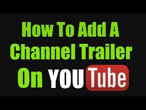 youtube chanle how to add