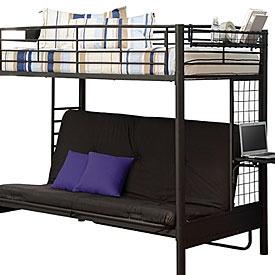 24 best bunkbeds images on Pinterest 34 beds Futon bunk bed