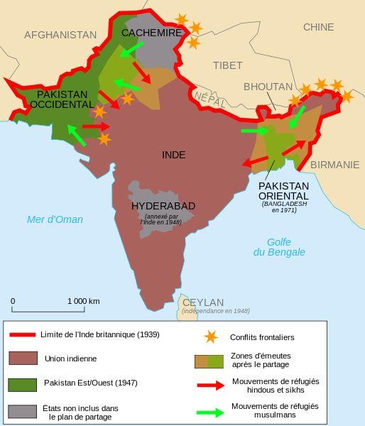 indépendance négociée de l'Inde