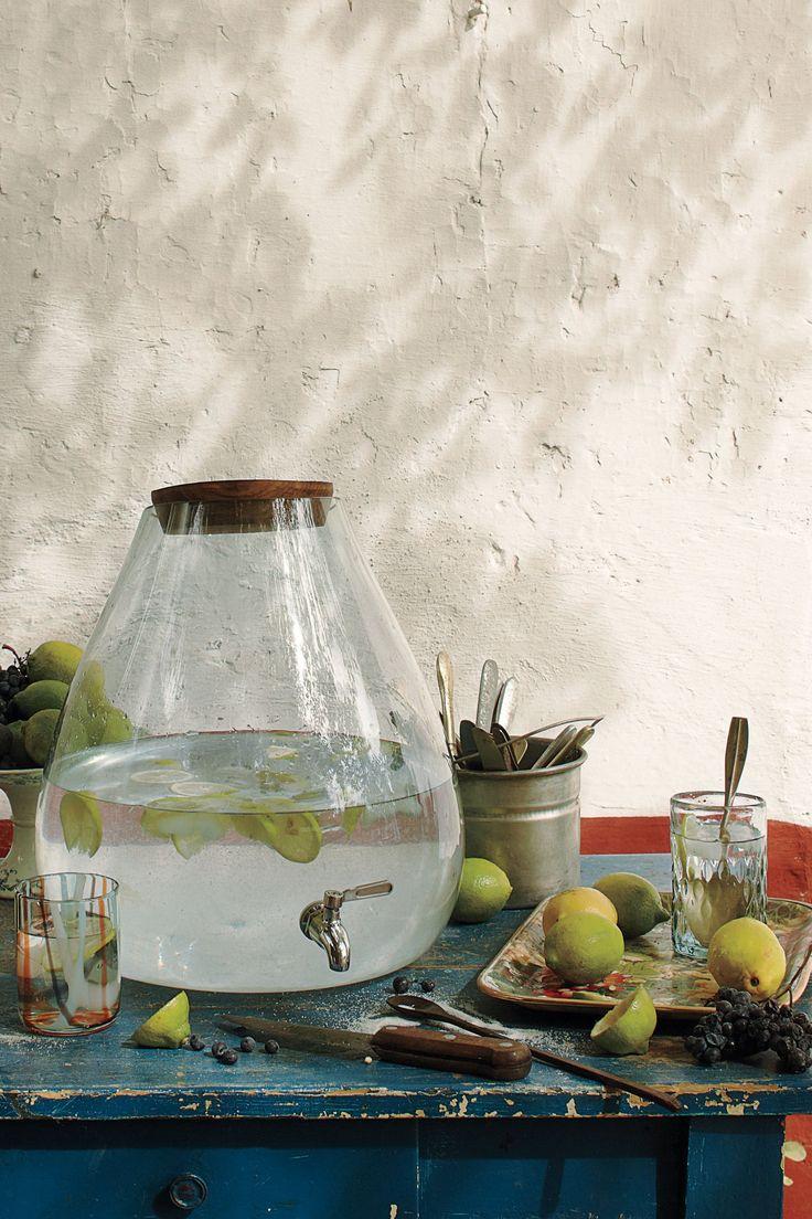 Bubbled Beverage Dispenser $298.00 #designsponge #dssummerparty