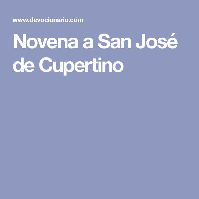 Novena a San José de Cupertino