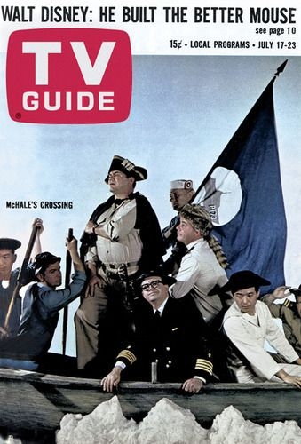 The stars of McHale's Navy, July 17, 1965: Gene Trindl's TV Guide Magazine Covers
