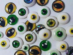 Видео мастер-класс: 10 способов сделать глаза для игрушек