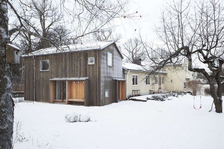 A house for children  What is the best way to add an extension to a detached house without altering the existing architecture?  This was the main concern exp...