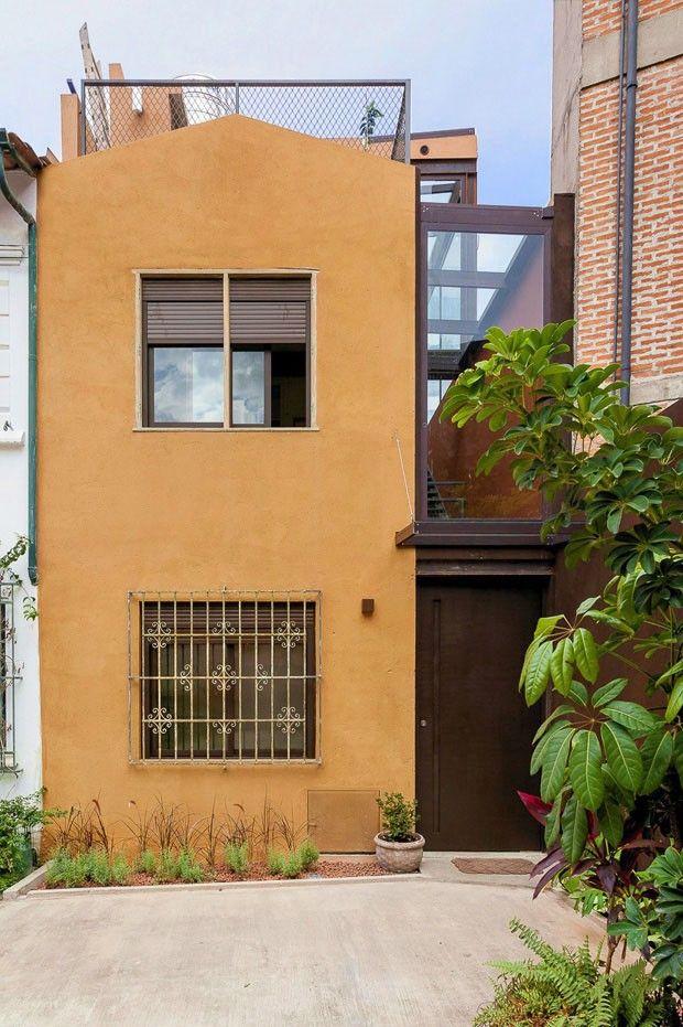 25 melhores ideias sobre plantas de casas estreitas no - Reforma en casa ...