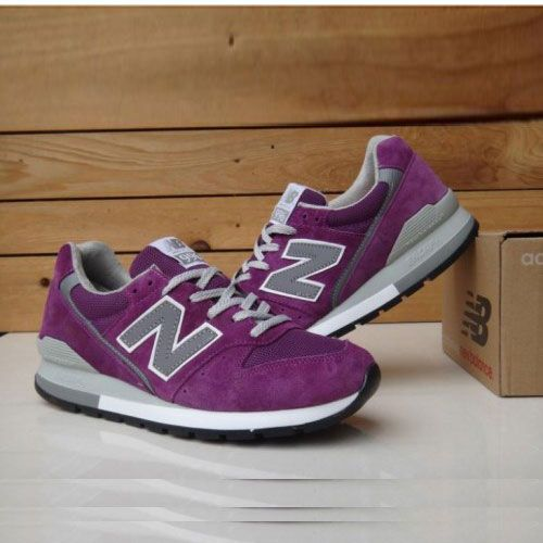 Men New Balance 996 Comfortable Purple Shoes