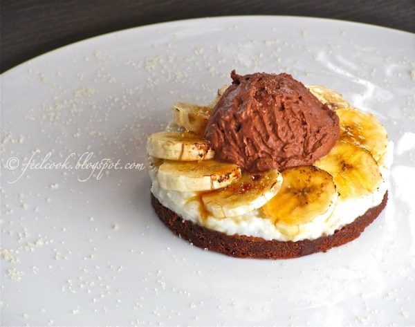 FeelCook cucina per passione: Tortino di banane caramellate e cocco