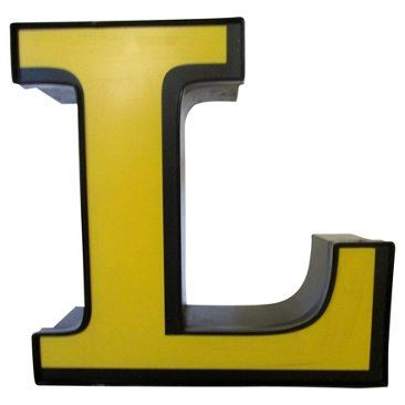 Check out this item at One Kings Lane! Marquee Letter L