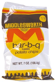 The one way we could work some local flavor into our welcome bags--Middleswarth Chips!