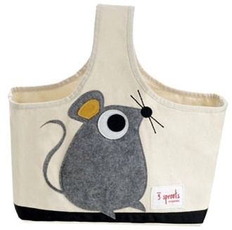 Sweet mouse toy caddy.