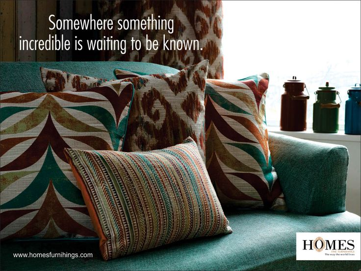 Reinvent your #Home & add a #Contemporary feel to your #Decor with eyeful #Colors and #Elegant look. Explore more on www.homesfurnishings.com #HomeFabrics #Cushions #Upholstery #HomesFurnishings #Furnishings #FineFabric