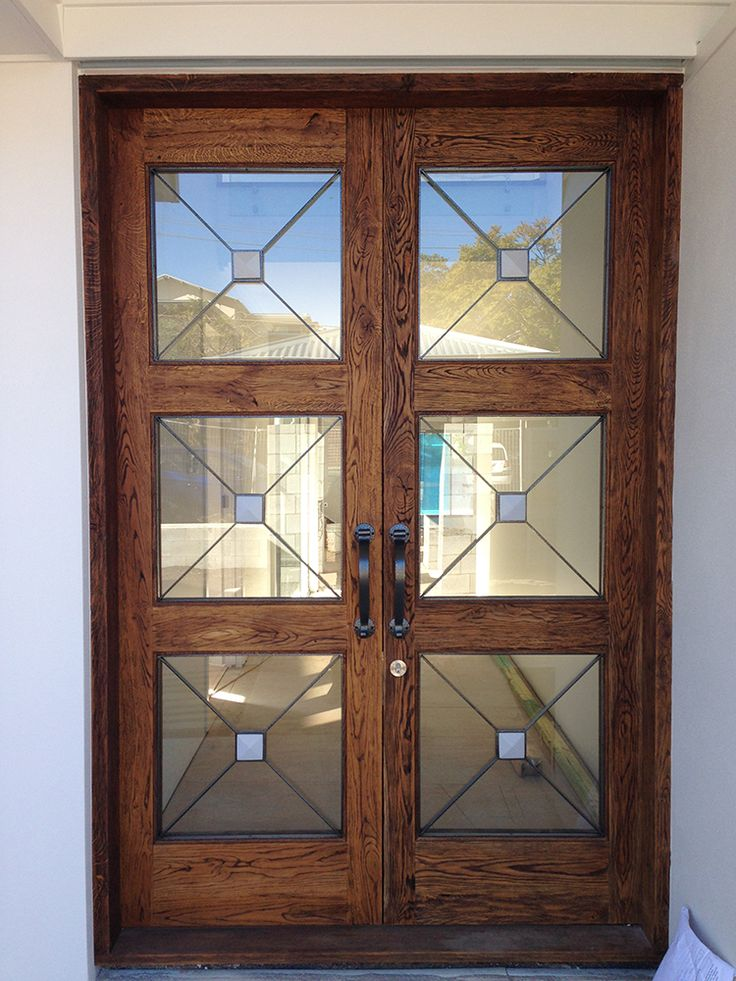 17 best images about front door on pinterest internal for Oak french doors