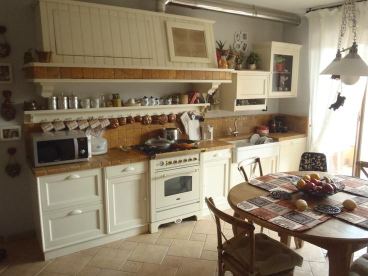 Marchi cucine mirabilia cappa piano di lavoro e lavello in ciottoli kitchen pinterest - Marche cucine economiche ...