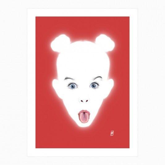 Glowing - Adele art | decor | wall art | inspiration | contemporary | home decor | idea | humor | gifts