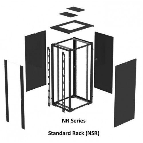 NR Series Standard Rack 42U 800 Wide x 800 Deep Black