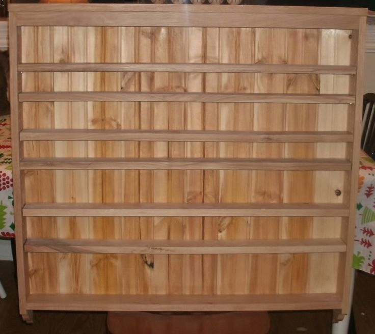 Woodworking Plans For Kitchen Spice Rack: Wooden Spice Rack Wall Mount Plans