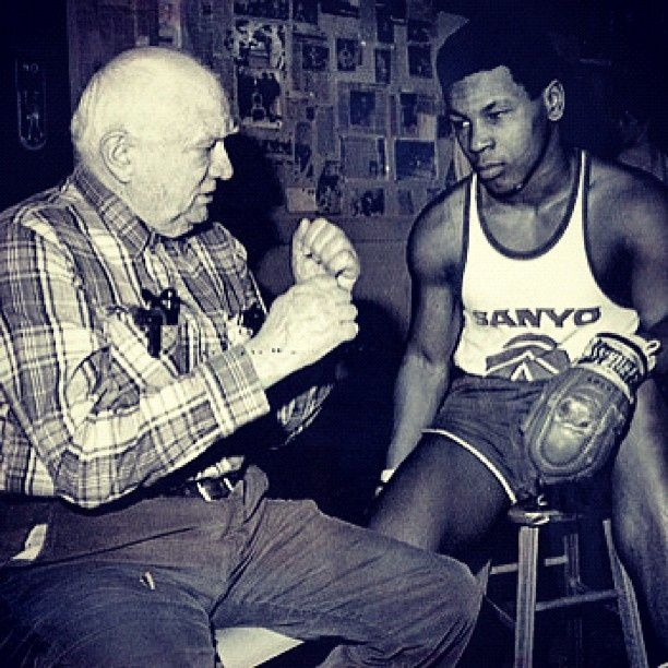 @MikeTyson Mike Tyson and Cus DAmato one of the TOP 10 BOXING TRAINERS OF ALL TIME