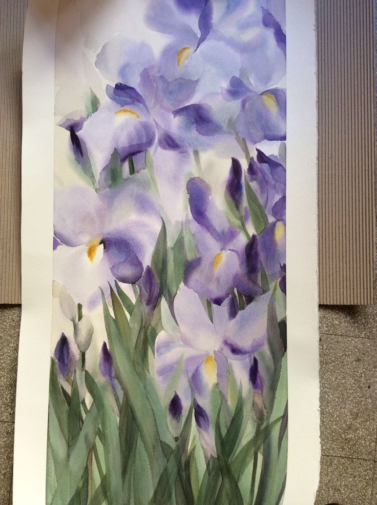 Iris (100x50cm)