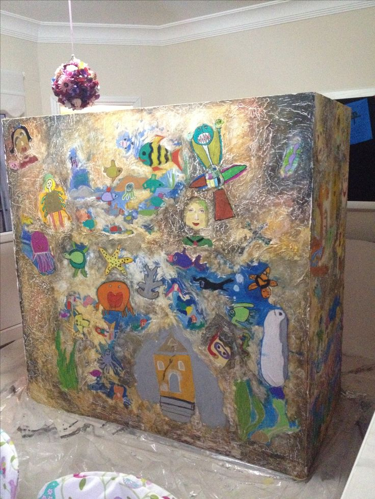 "İstanbul Çocuk Bienali hazırlık  ""Dream Box"""