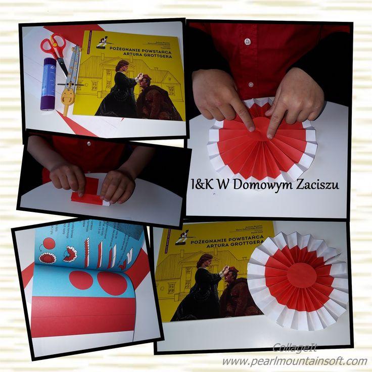 Majowe święto skłoniło nas do wykonania kokardy narodowej, która jest patriotycznym, narodowym symbolem Polaków. Kokarda jest kolistą rozet...