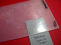 Very cool ways to stretch your embossing folders and use them in new ways!
