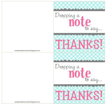 The 25+ best Teacher appreciation notes ideas on Pinterest - printable thank you note
