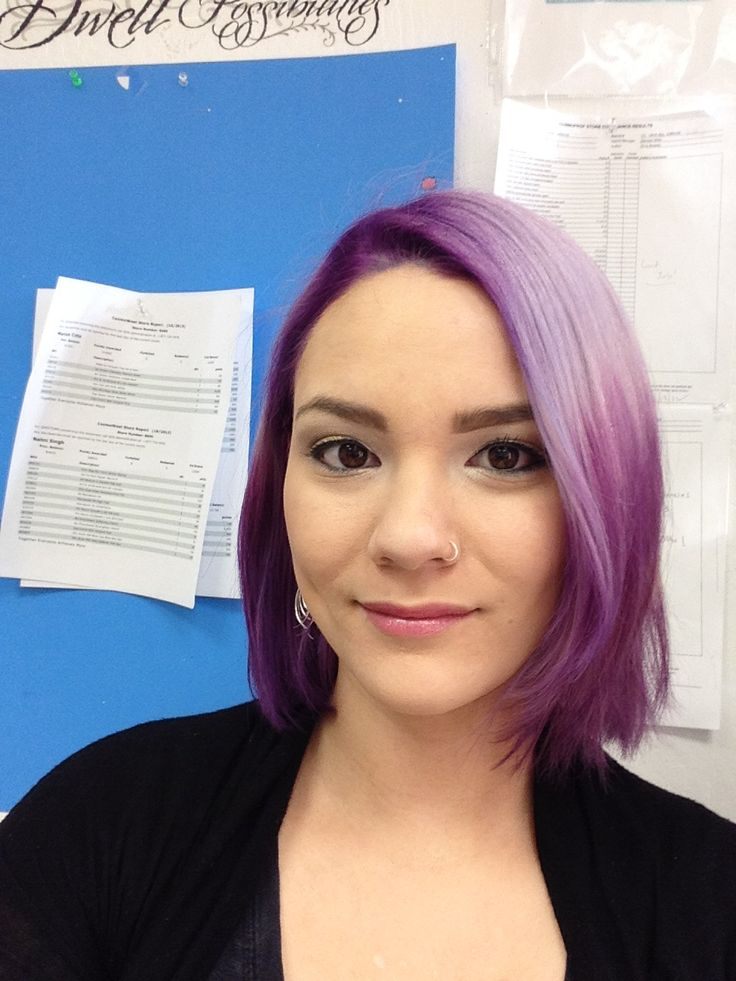 rusk deepshine direct marine therapy in purple and icy
