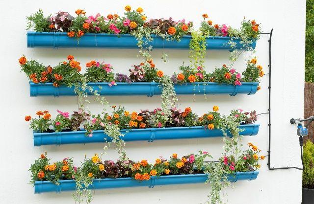 Jardines verticales para tu mini terraza o balcón - Little Big Flat