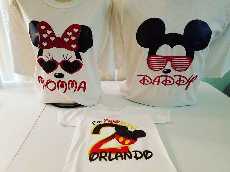 Orlando's Mickey Mouse Clubhouse birthday party is about to be lit!  I love our birthday shirts.