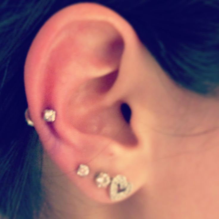 New auricle piercing. I love it! | Accessories | Pinterest ...