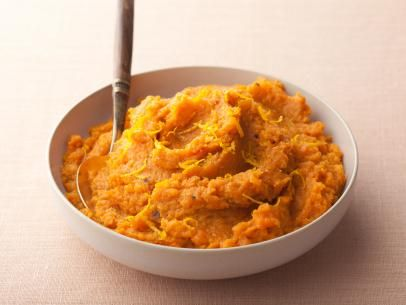 Get this all-star, easy-to-follow Mashed Sweet Potatoes recipe from Rachael Ray