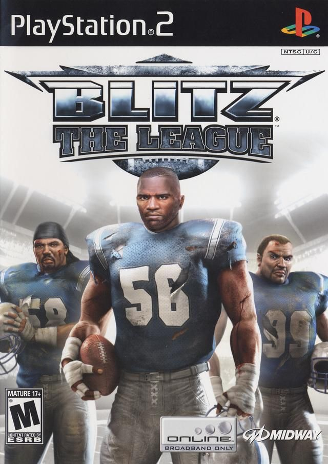 Blitz the League Sony Playstation 2 Game