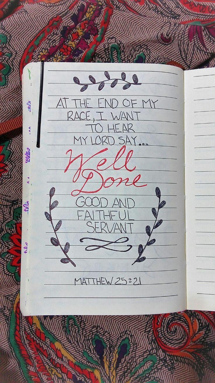 Mathew 25:21 / Mateo 25:21