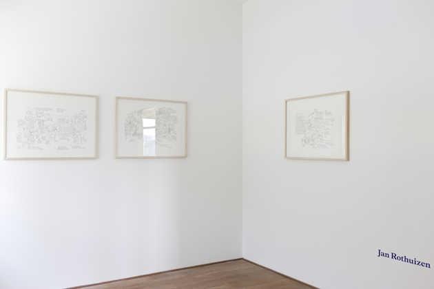 Jan Rothuizen, The Secret Annex (2009), Bookstore (2009), Fallen Soldier (2010). © Jordi Huisman, Museum De Paviljoens
