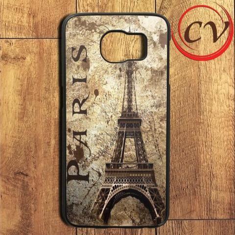 Paris Vintage Art Samsung Galaxy S6 Edge Plus Case