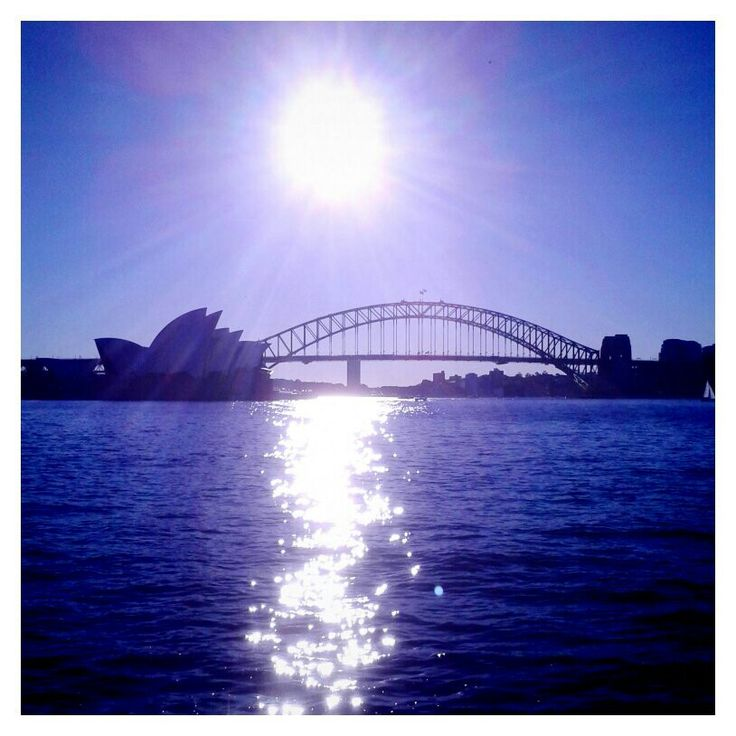 Opera House and Harbour Bridge. Mrs Macquaries Point, Sydney