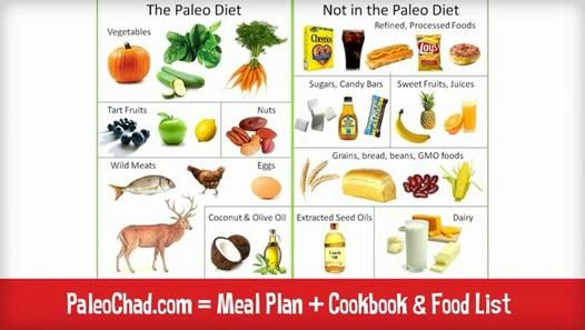 Paleo Diet Food List - Ultimate Food and Grocery List for the Paleo Diet