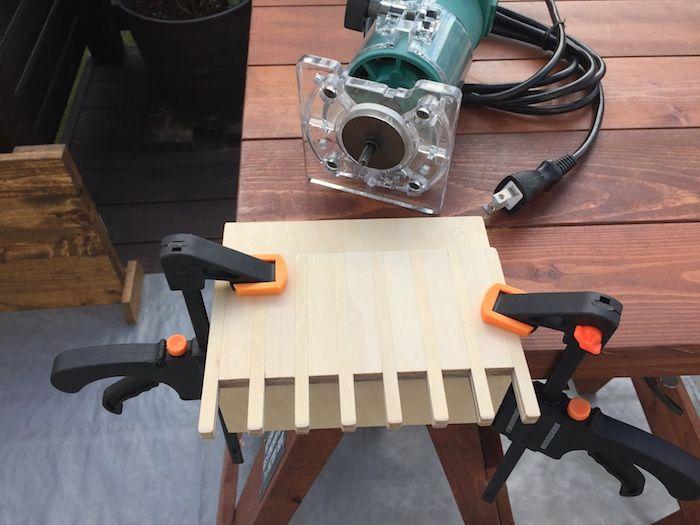 《大工道具DIY》トリマー「アラレ組用テンプレート」を自作しよう!
