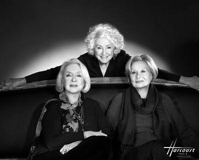 ♥ Michèle Morgan, Micheline Presle et Danièle Darrieux