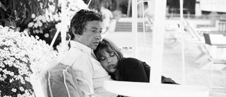 Photos of lovers Jane Birkin and Serge Gainsbourg, taken by her brother Andrew Birkin, exhibited at Proud London in 2014